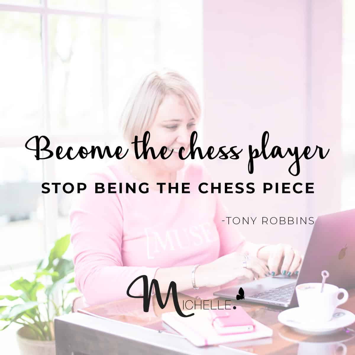 become the chess player